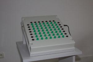 urządzenie stosowane dobadań psychologicznych operatorów maszyn