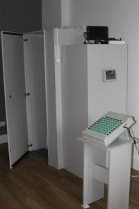 sala przeznaczona do badań psychologicznych różnych zawodów
