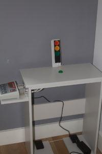 sygnalizacja, badania psychologiczne operatorów maszyn